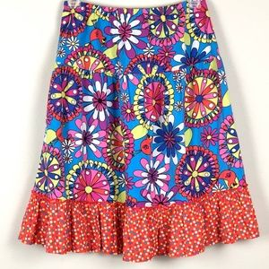HANNA ANDERSON | Girls Floral Flare Skirt 16014 16
